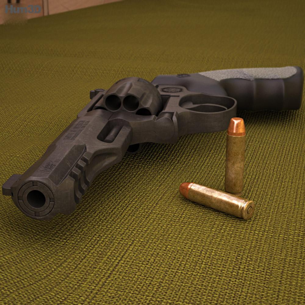 Smith & Wesson Model M&P R8 3d model