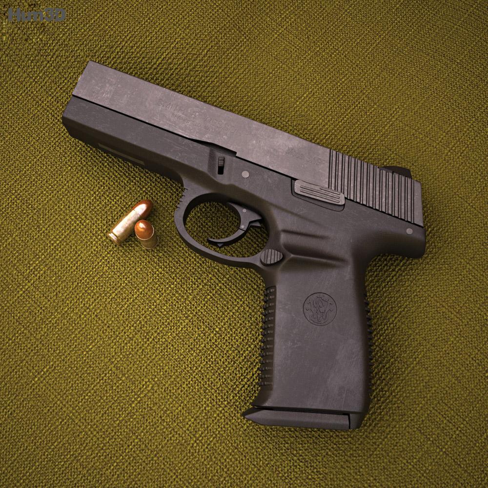 Smith & Wesson Sigma 9F 3d model