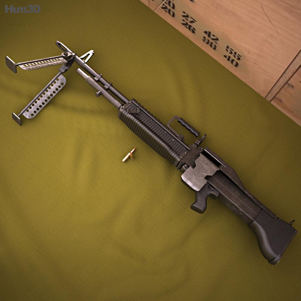 Saco Defense M60 3d model