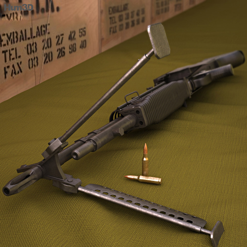 Saco Defense M60 3d model