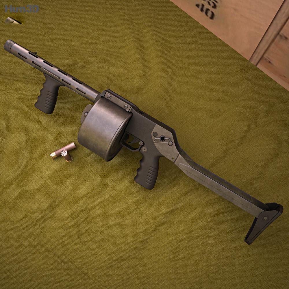 Sentinel Arms Striker-12 3d model