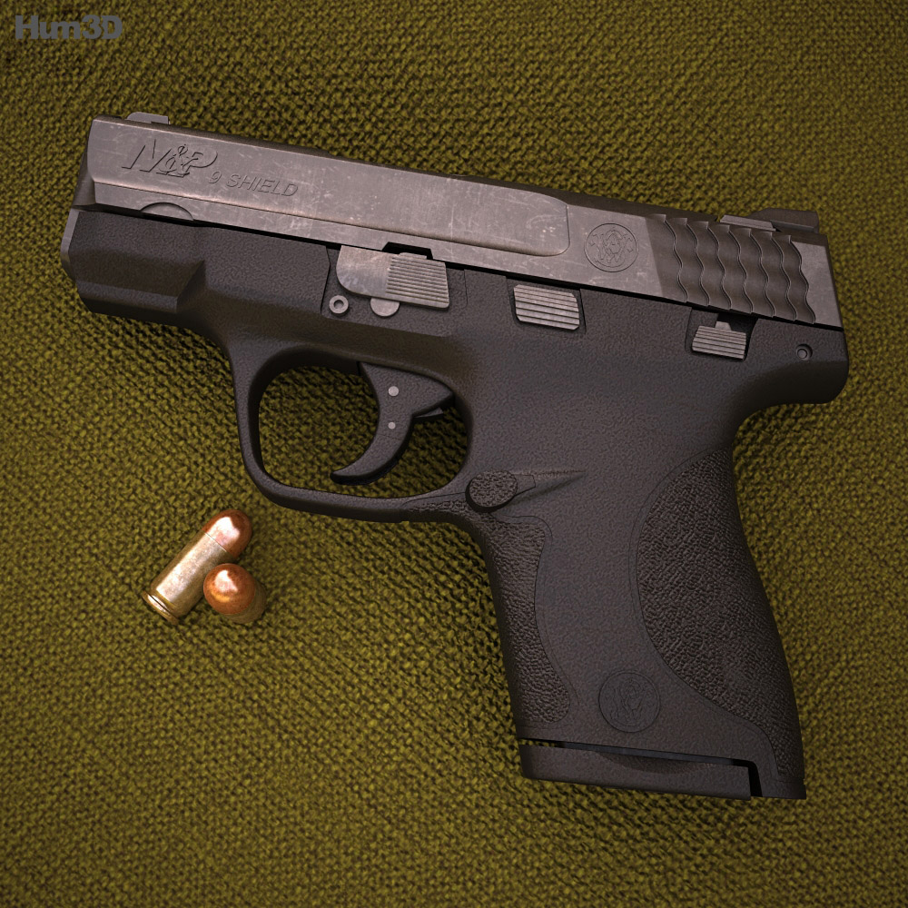 Smith & Wesson M&P SHIELD 9 3d model