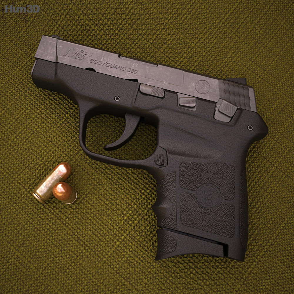 Smith & Wesson M&P BODYGUARD 380 3d model