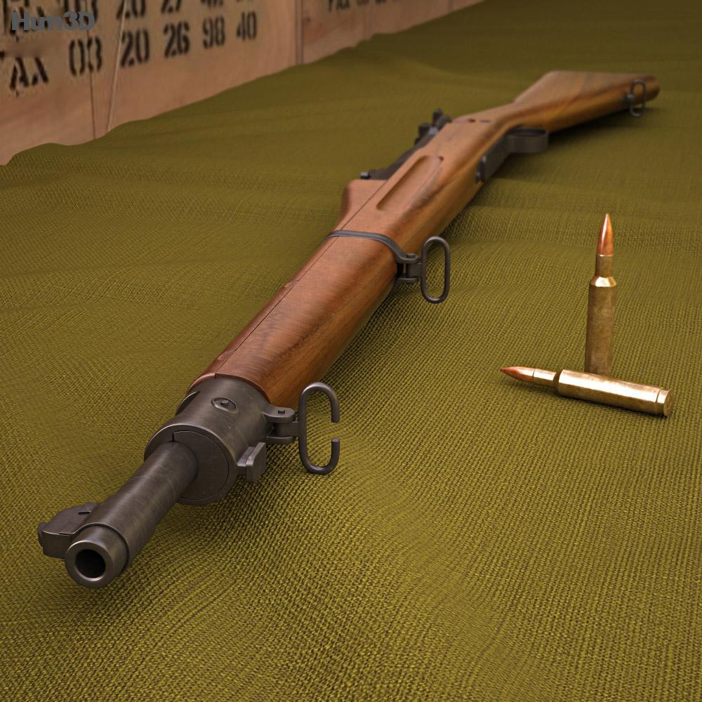 Springfield M1903 3d model