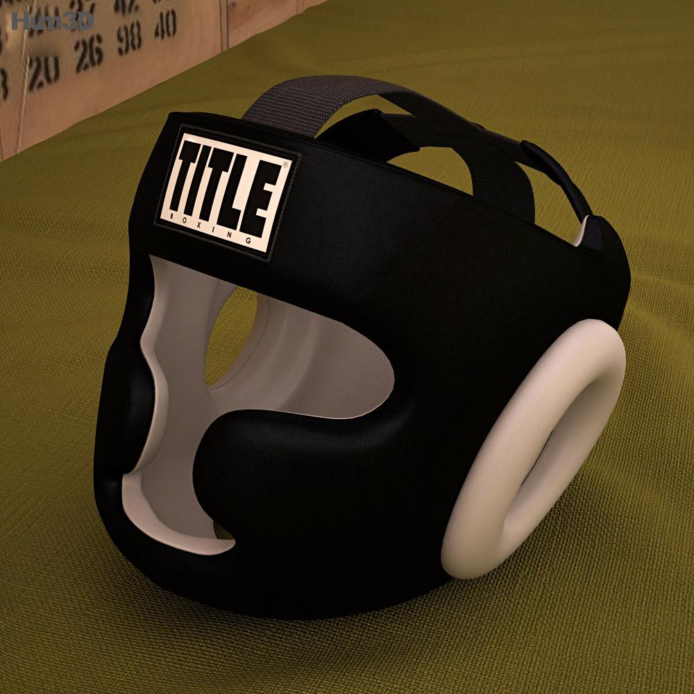 Training Headgear 3d model
