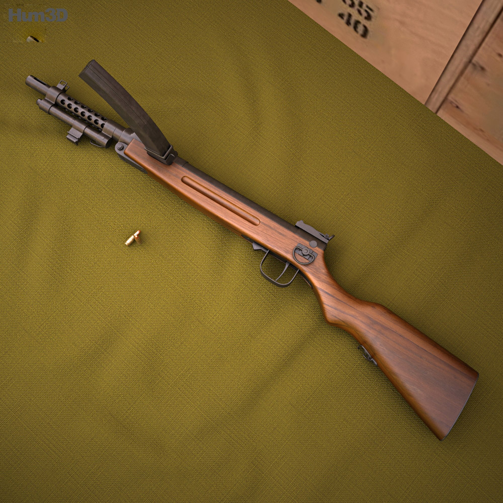 Nambu Type 100 3d model