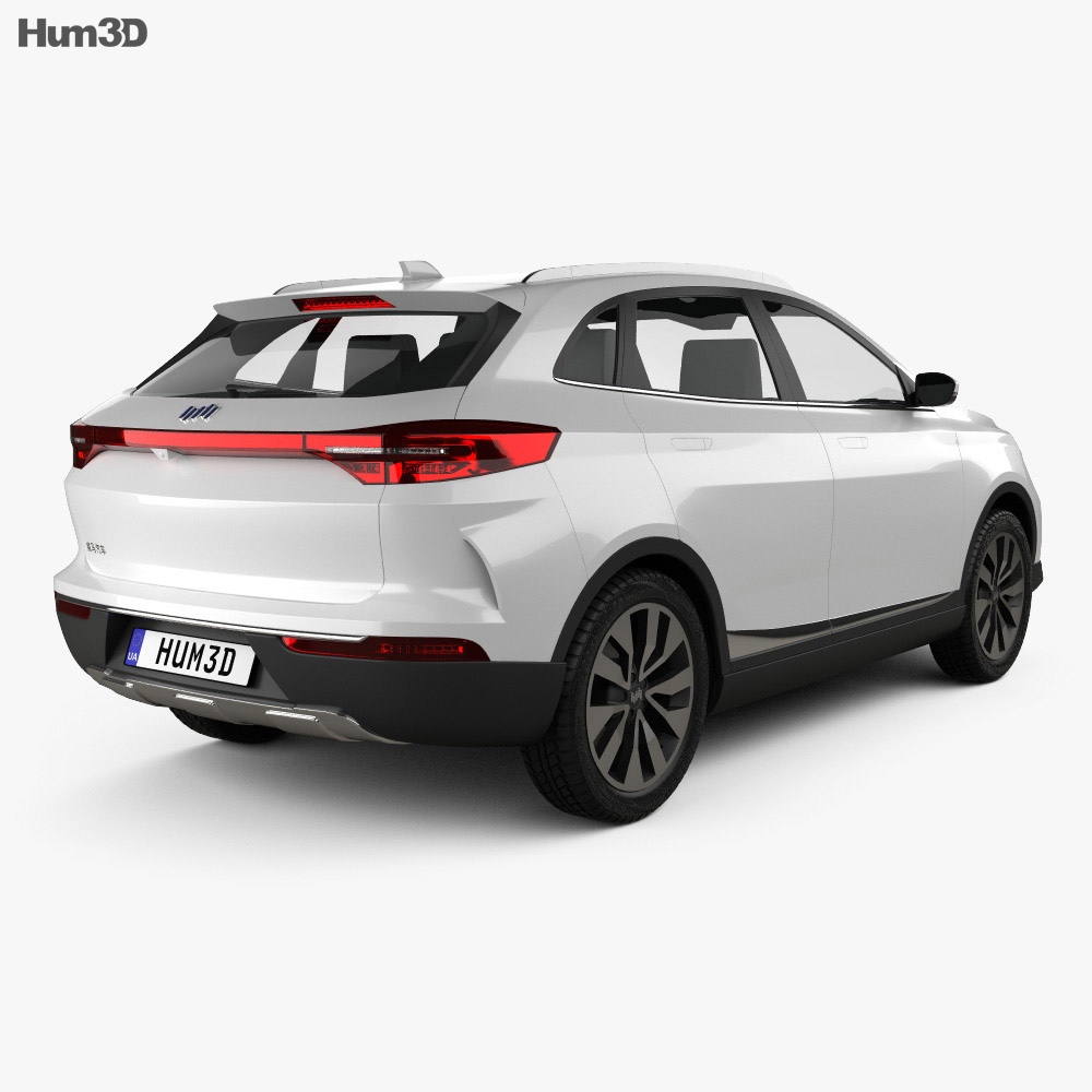 Weltmeister EX5 2018 3d model