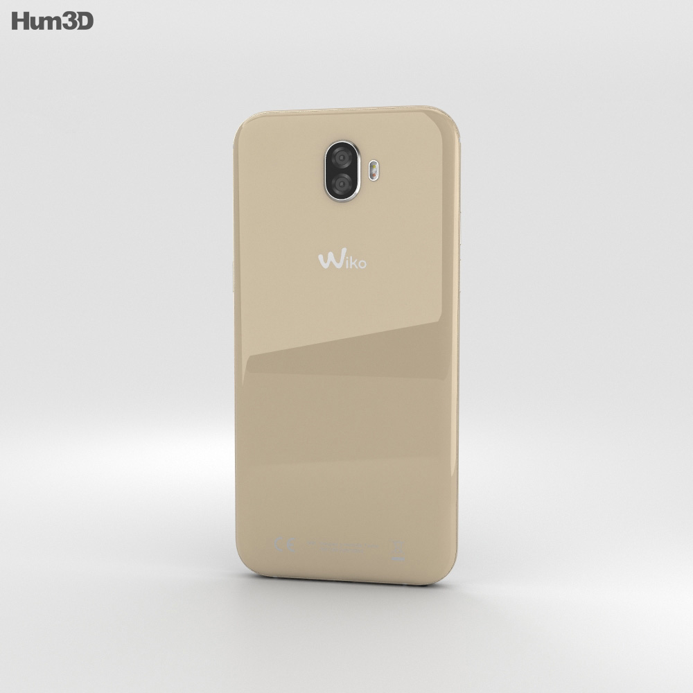 Wiko Wim Brown 3d model