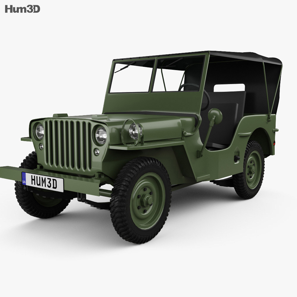 Willys MB 1941 3d model