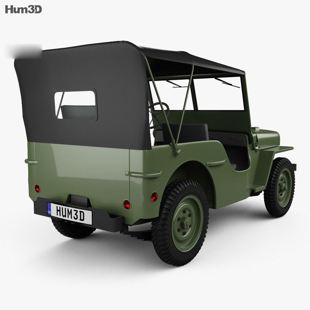Willys MB 1941 3d model
