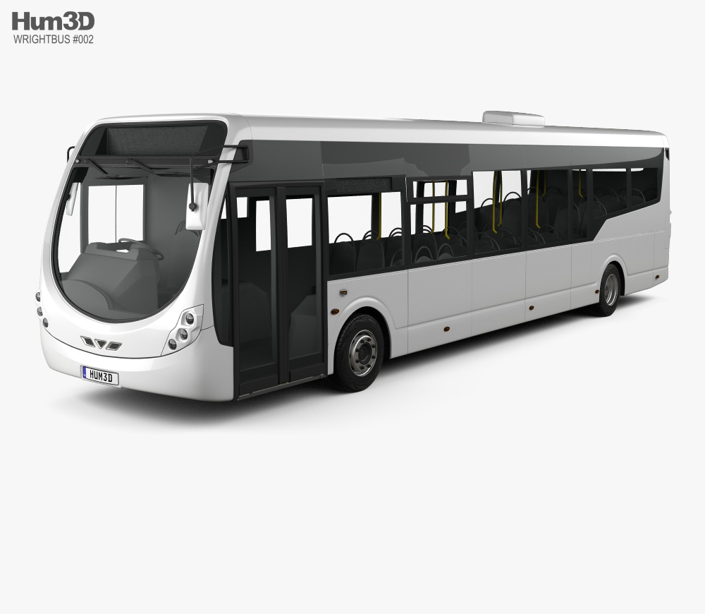 3D model of WrightBus StreetLite 2017
