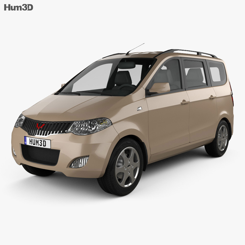 3D model of Wuling Hong Guang 2013