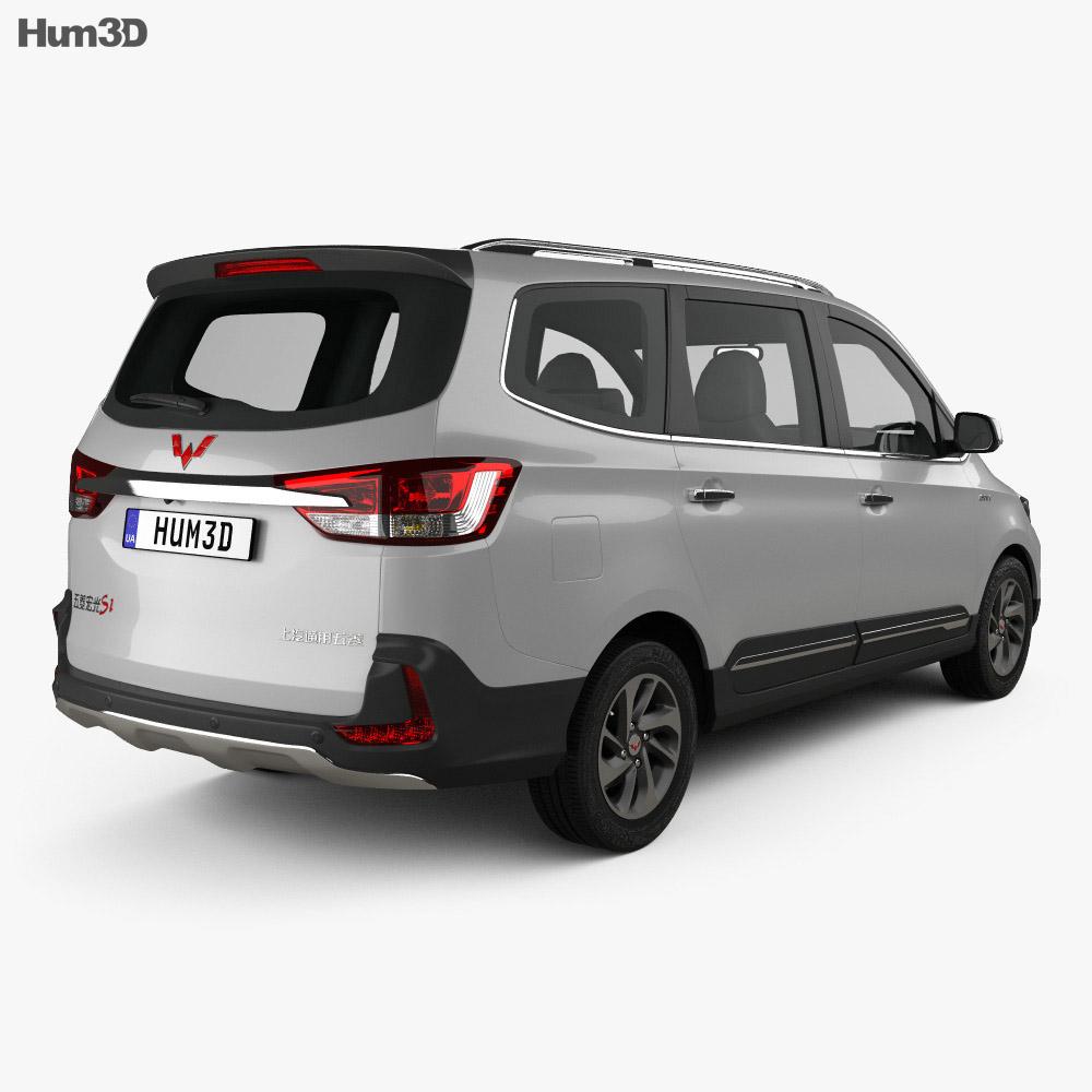 Wuling Hongguang Confero S 2016 3d model