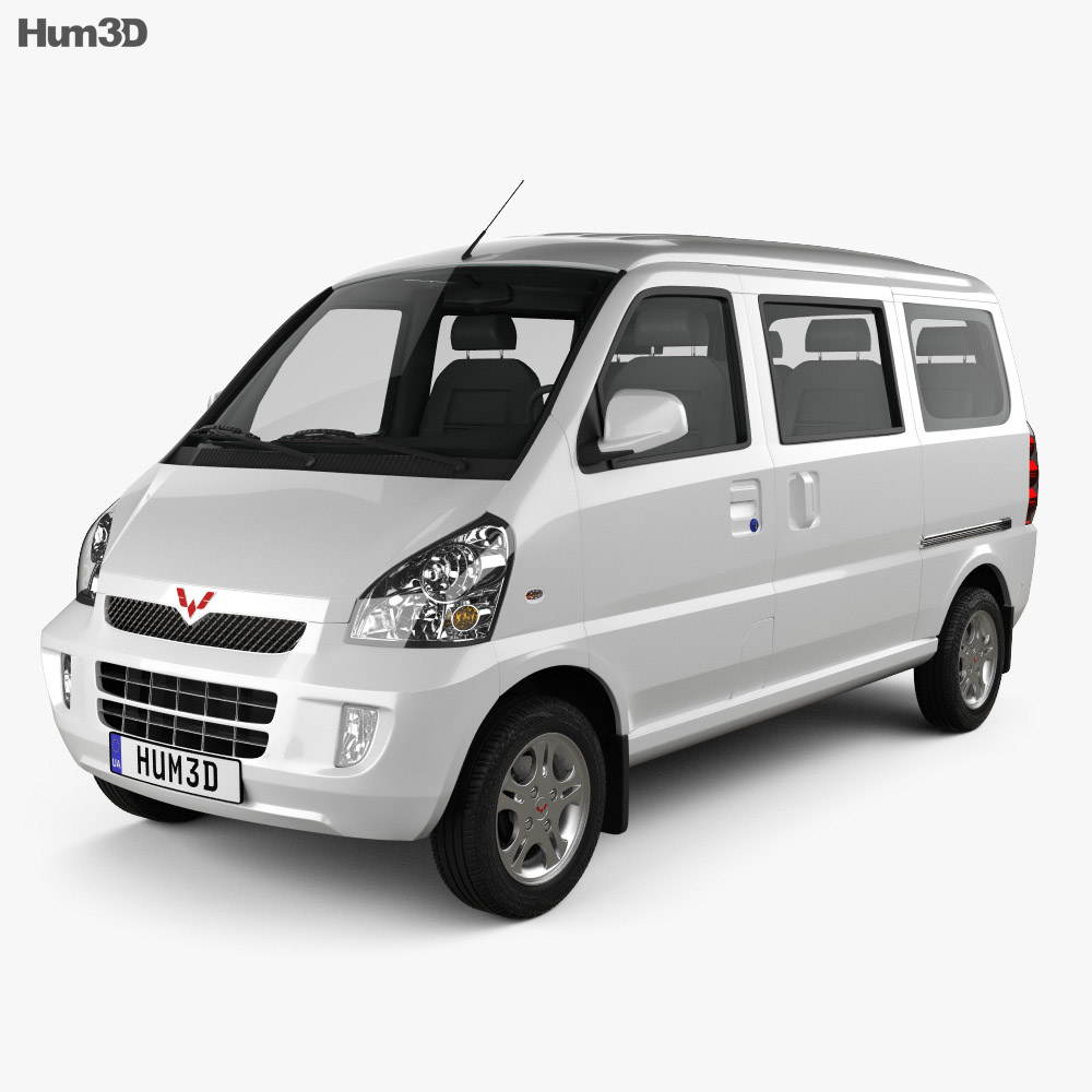 3D model of Wuling Rongguang 2012