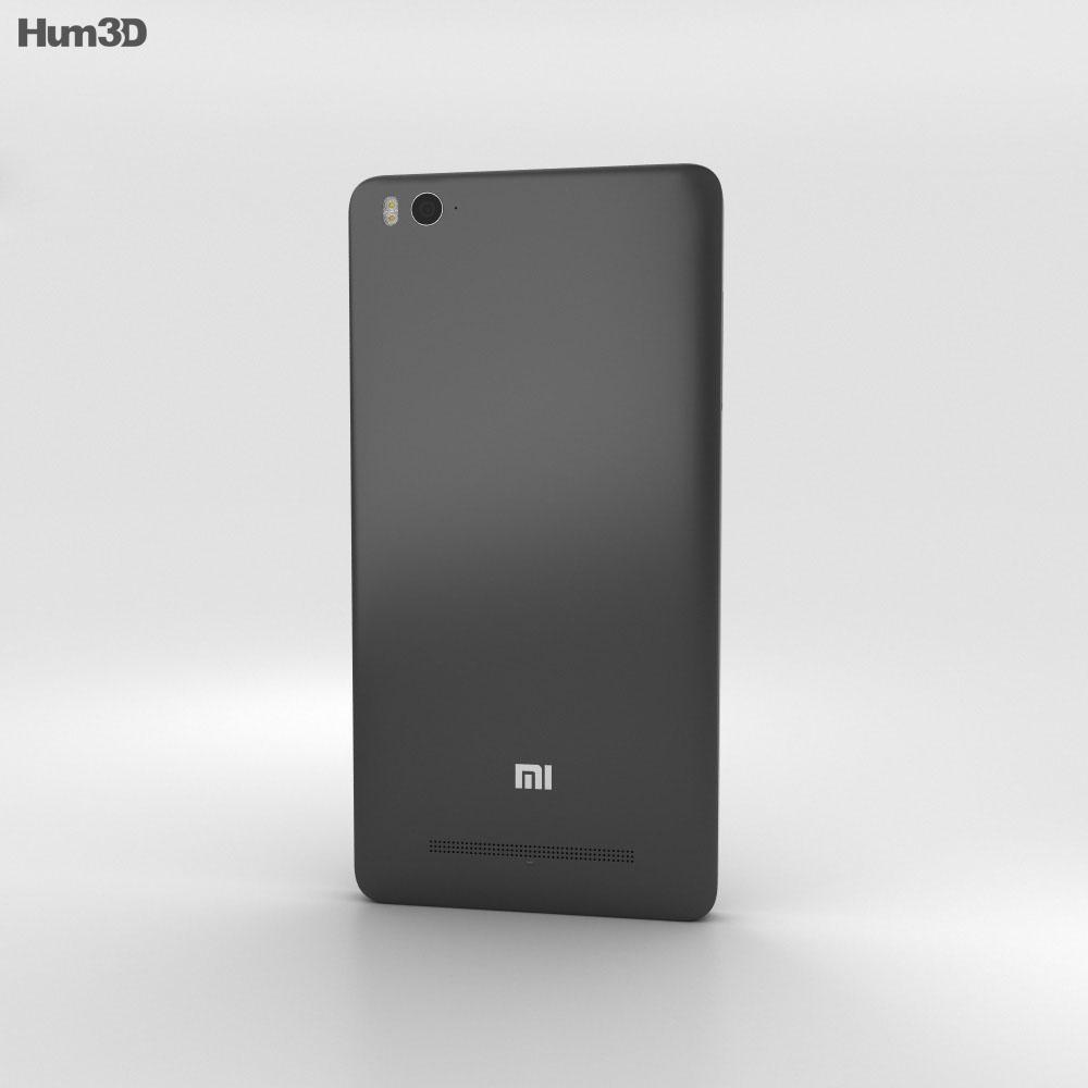 Xiaomi Mi 4i Black 3d model