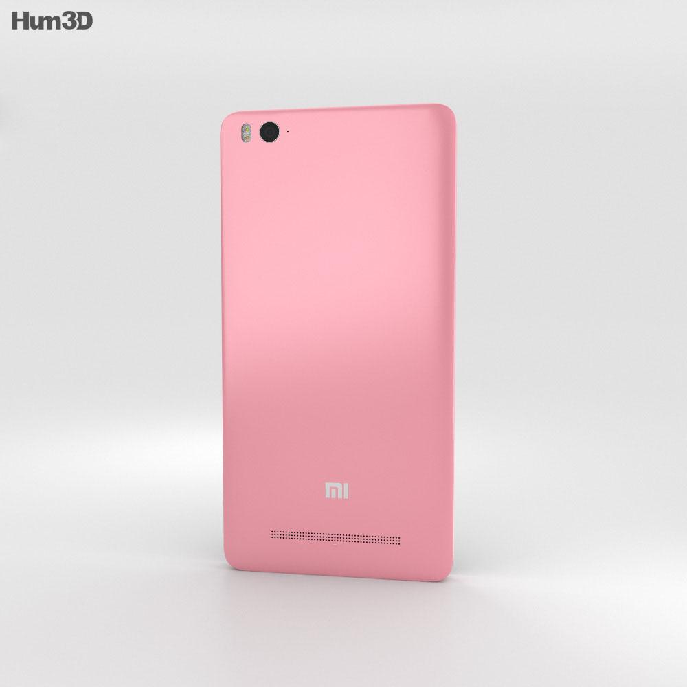 Xiaomi Mi 4i Pink 3d model