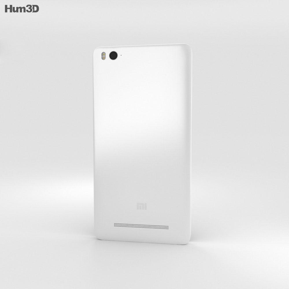 Xiaomi Mi 4i White 3d model