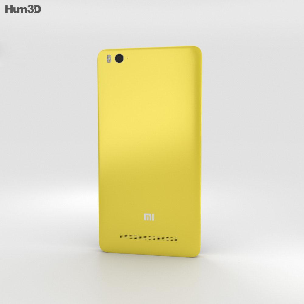 Xiaomi Mi 4i Yellow 3d model