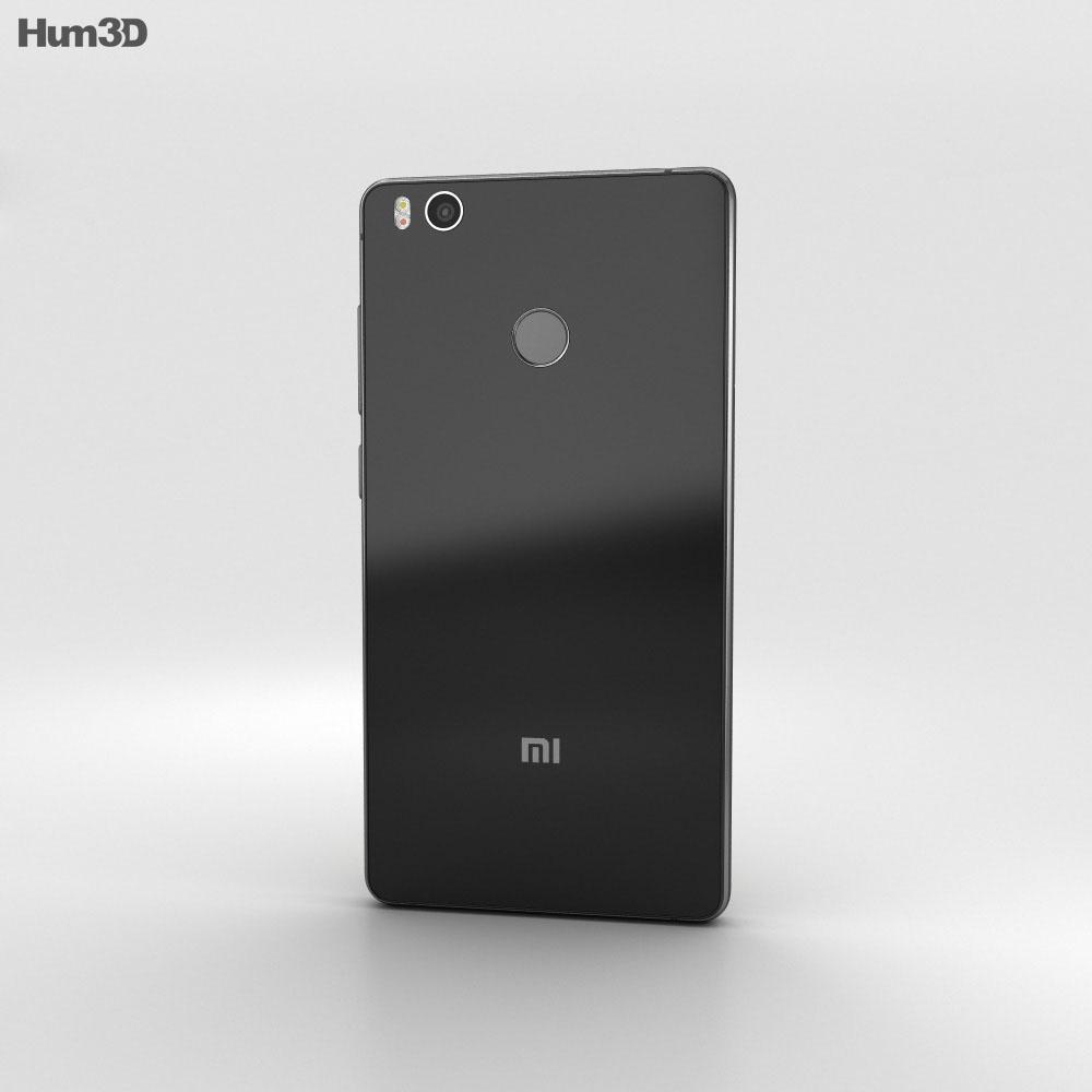 Xiaomi Mi 4s Black 3d model