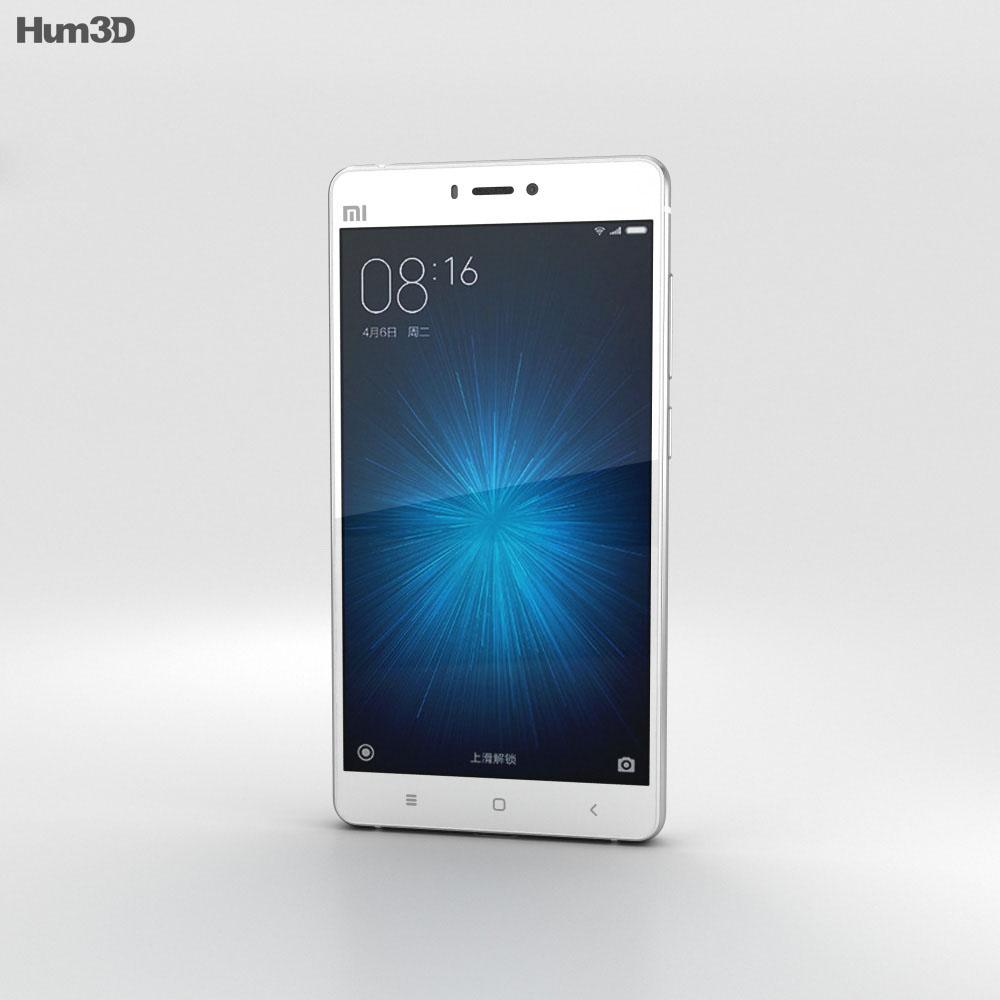 Xiaomi Mi 4s White 3d model