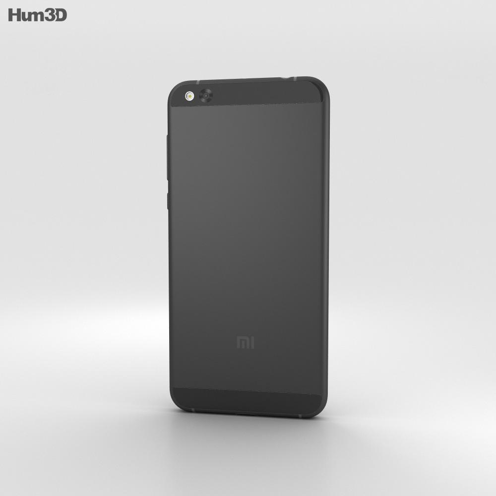 Xiaomi Mi 5c Black 3d model