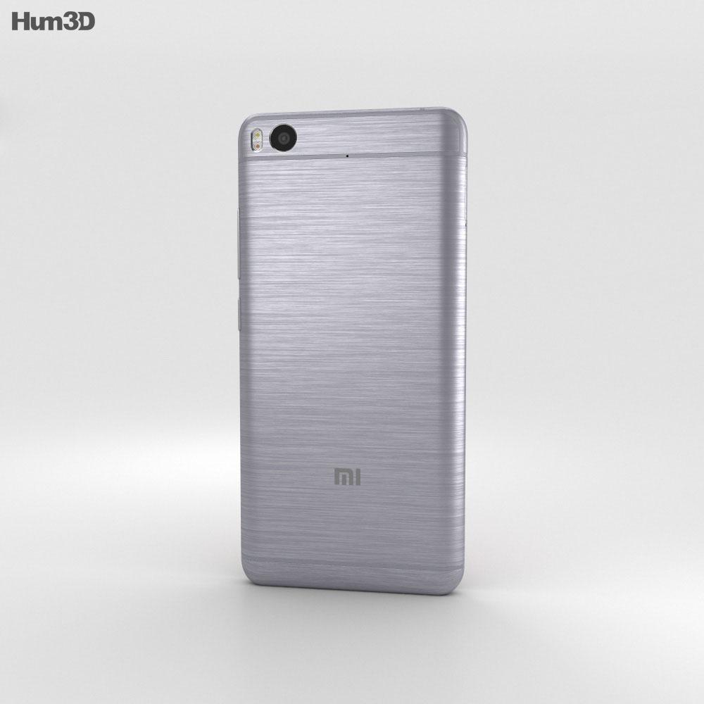 Xiaomi Mi 5s Gray 3d model
