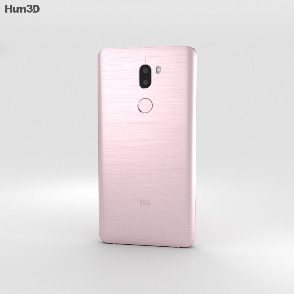 Xiaomi Mi 5s Plus Rose Gold 3d model