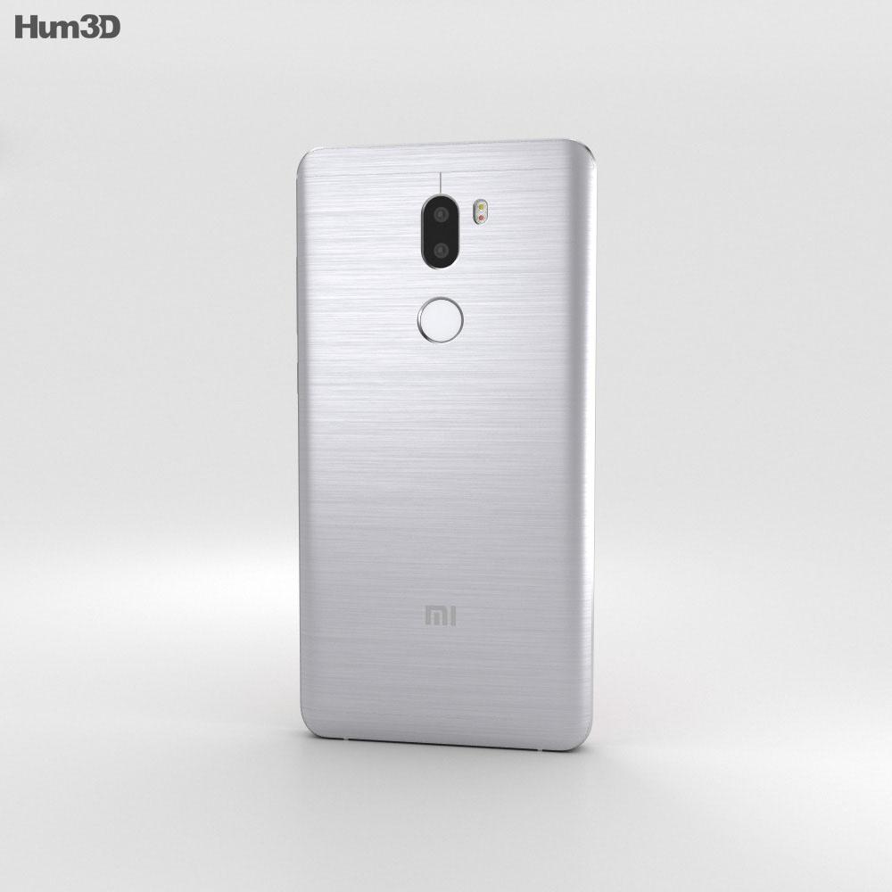 Xiaomi Mi 5s Plus Silver 3d model