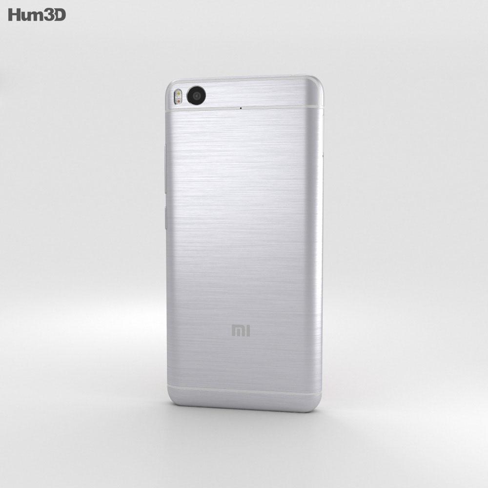 Xiaomi Mi 5s Silver 3d model
