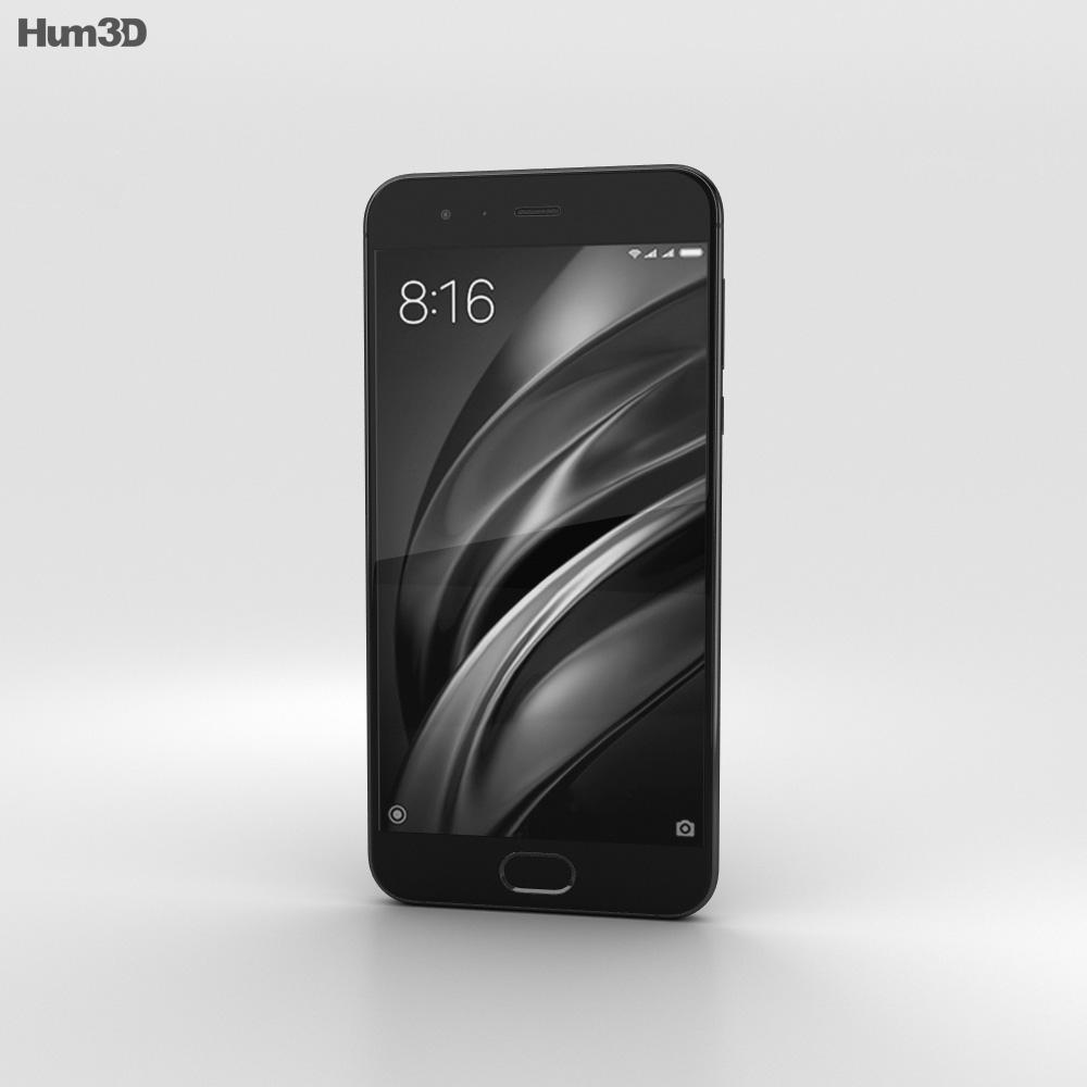 Xiaomi Mi 6 Black 3d model