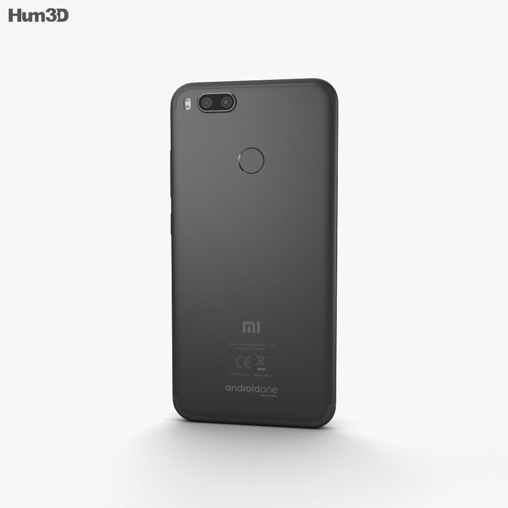 Xiaomi Mi A1 Black 3d model