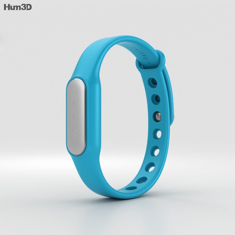 Xiaomi Mi Band Blue 3d model
