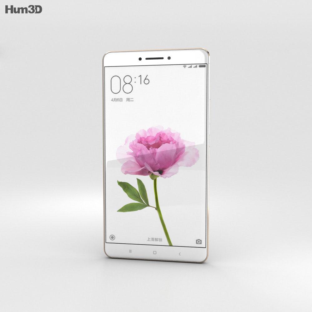 Xiaomi Mi Max Gold 3d model