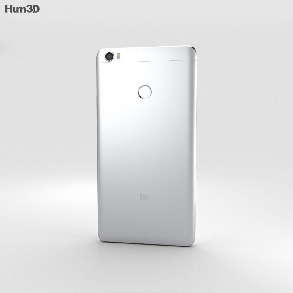 Xiaomi Mi Max Silver 3d model