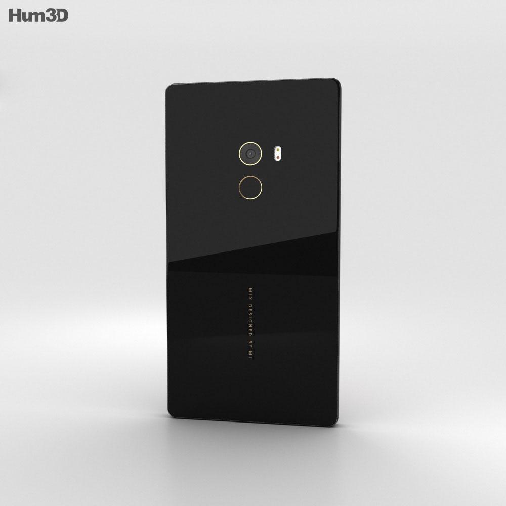 Xiaomi Mi Mix Black 3d model