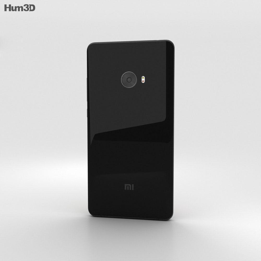 Xiaomi Mi Note 2 Black 3d model