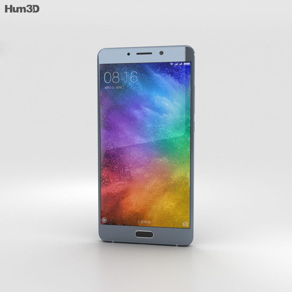 Xiaomi Mi Note 2 Silver 3d model