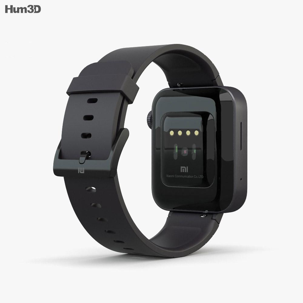 Xiaomi Mi Watch Black 3d model