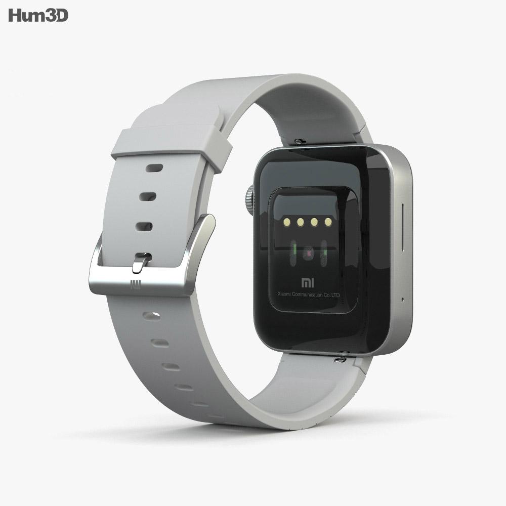 Xiaomi Mi Watch Silver 3d model
