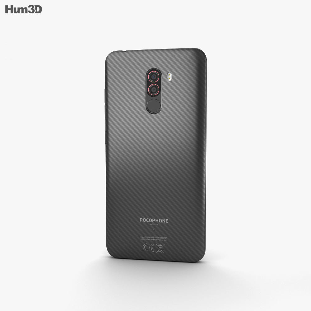 Xiaomi Pocophone F1 Armored Edition with Kevlar 3d model