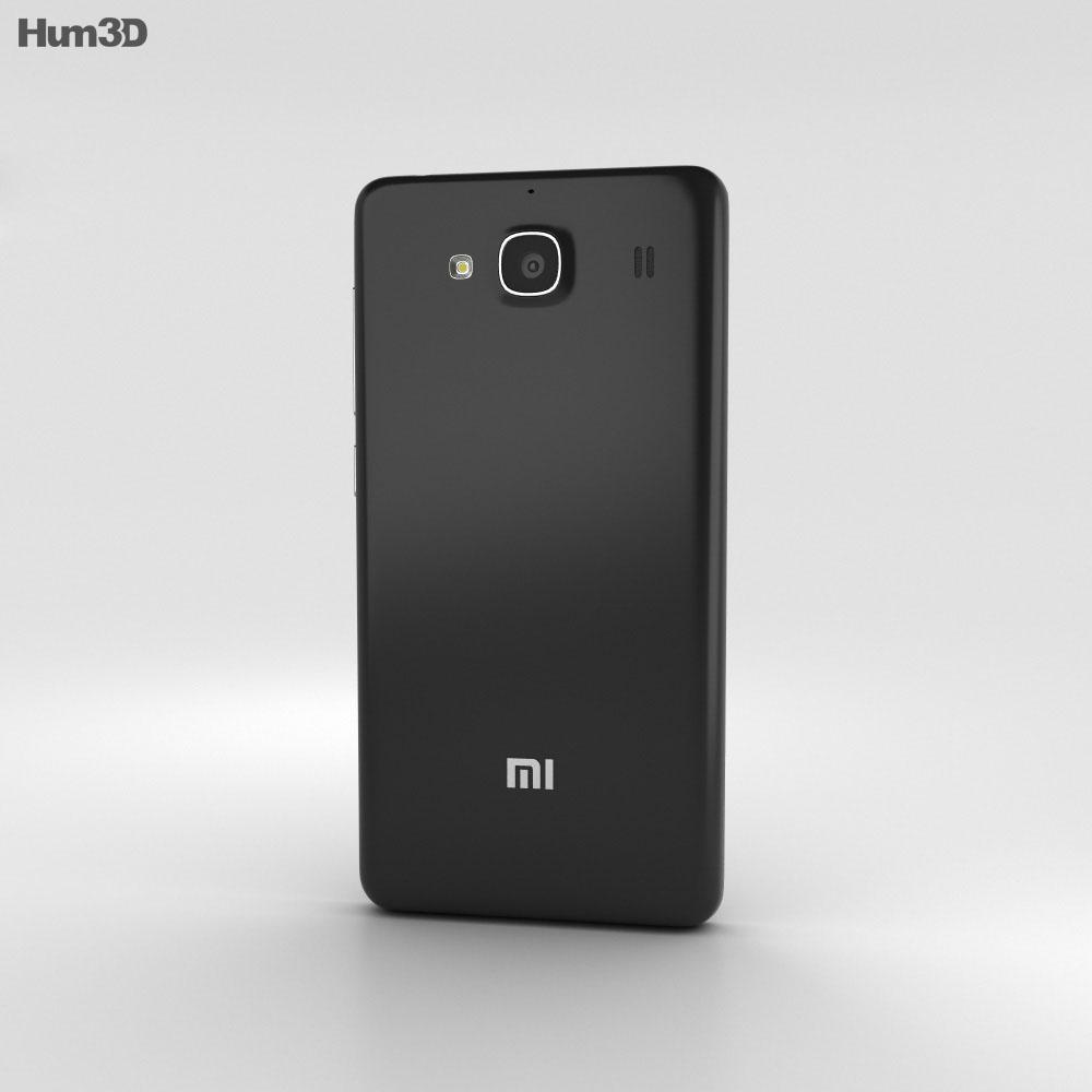 Xiaomi Redmi 2 Black 3d Model Hum3d