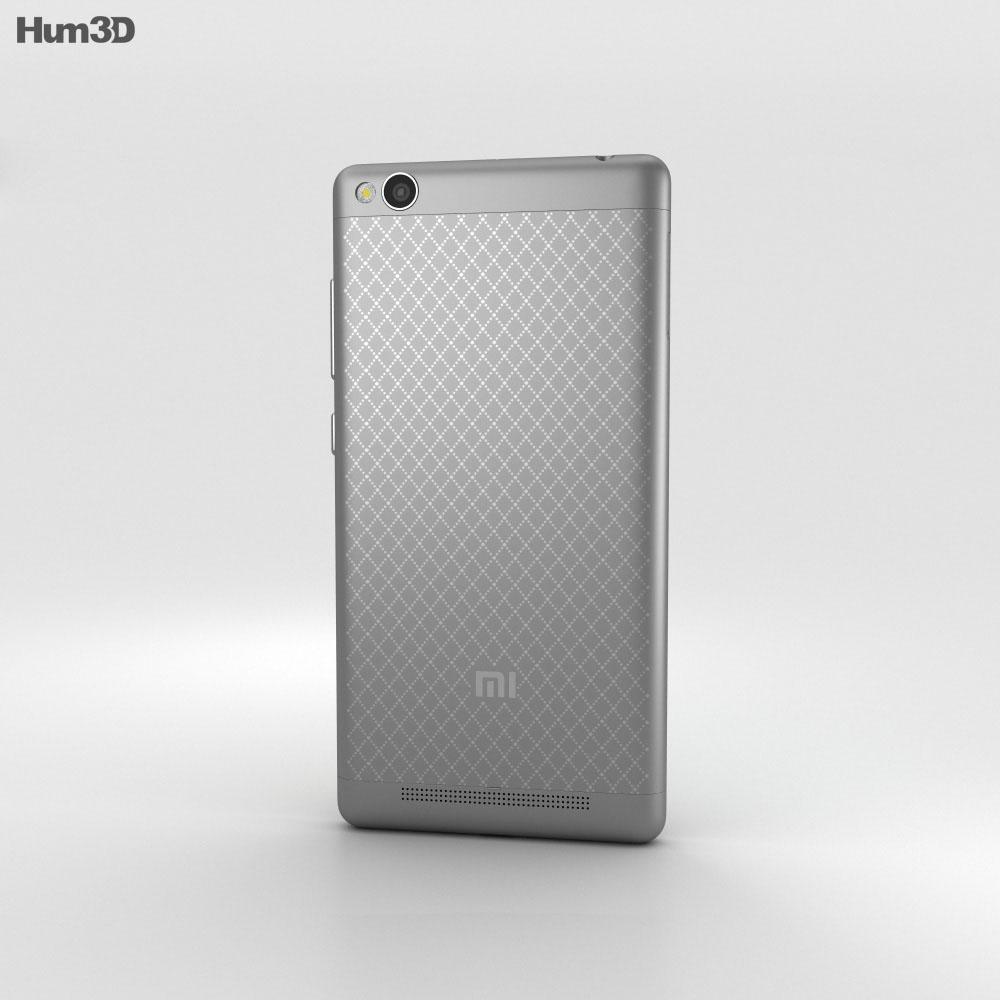 Xiaomi Redmi 3 Dark Gray 3d model