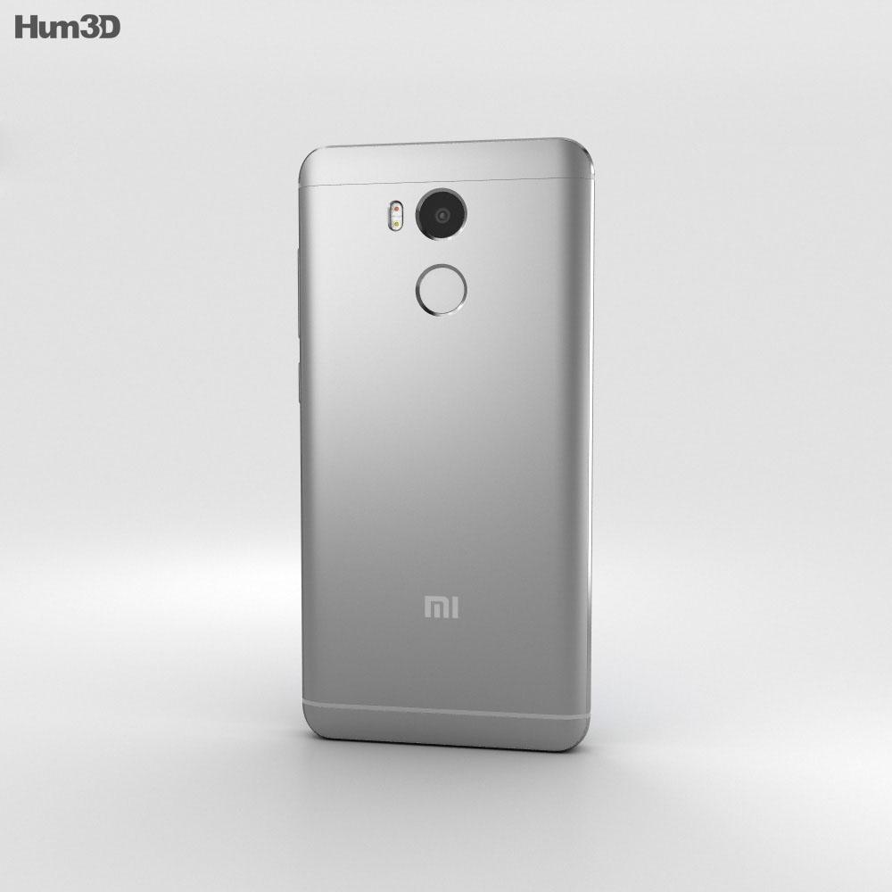Xiaomi Redmi 4 Prime Dark Gray 3d model