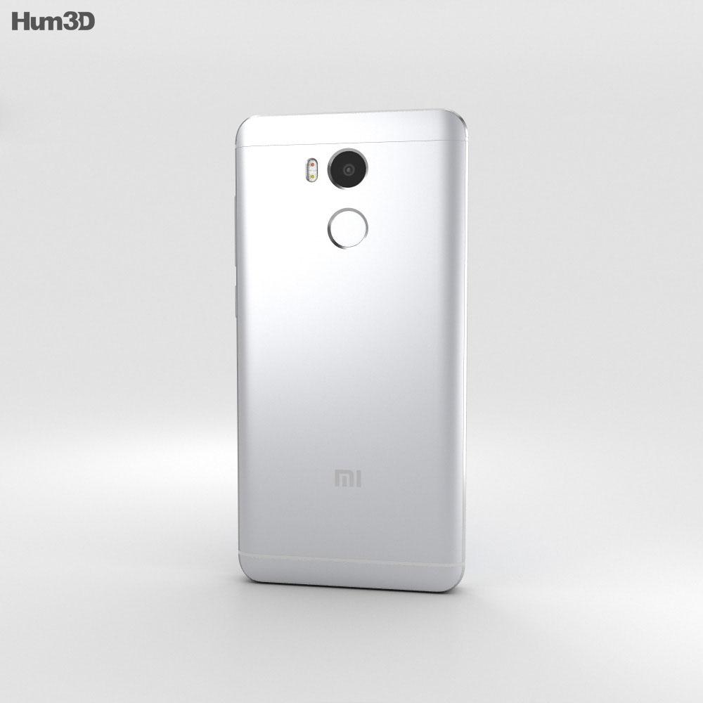 Xiaomi Redmi 4 Prime Silver 3d model