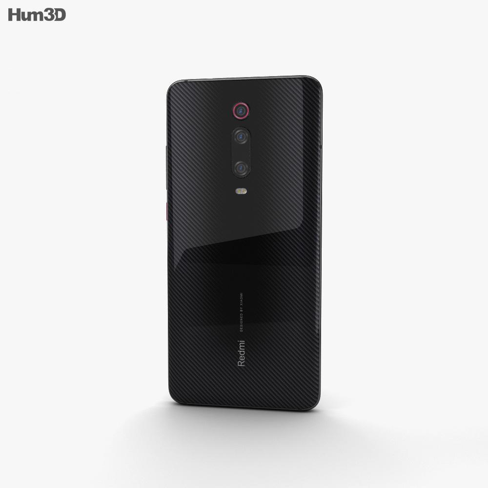 Xiaomi Redmi K20 Pro Carbon Black 3d model