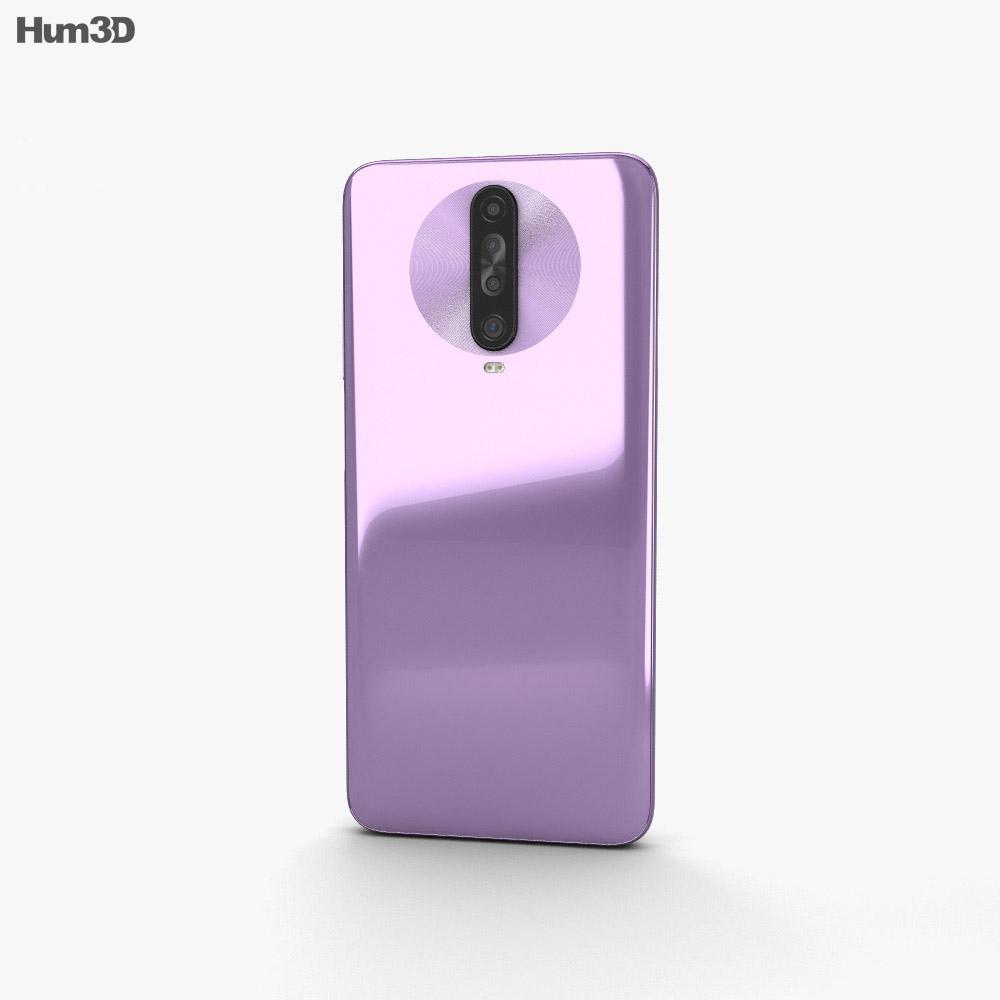 Xiaomi Redmi K30 Purple 3d model