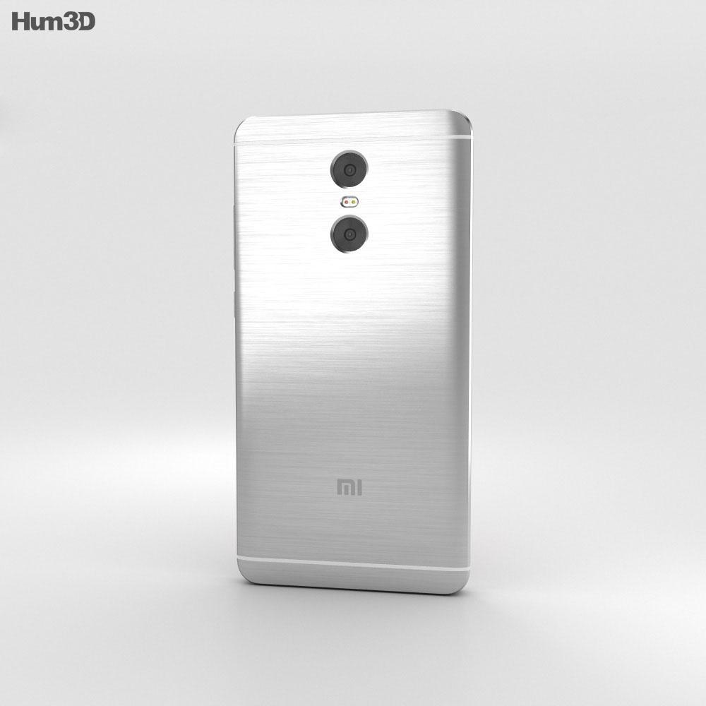 Xiaomi Redmi Pro Silver 3d model