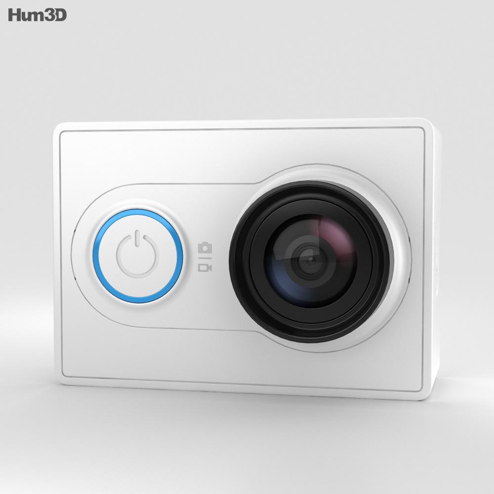 3D model of Xiaomi Yi Action Camera