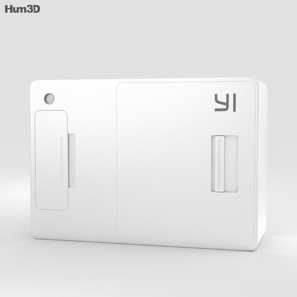 Xiaomi Yi Action Camera 3d model
