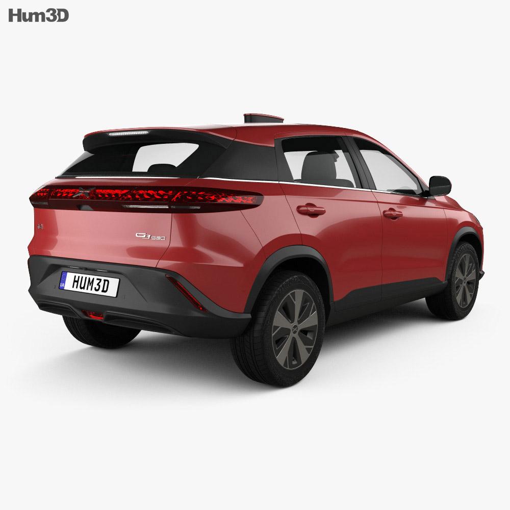 Xpeng G3 2020 3d model